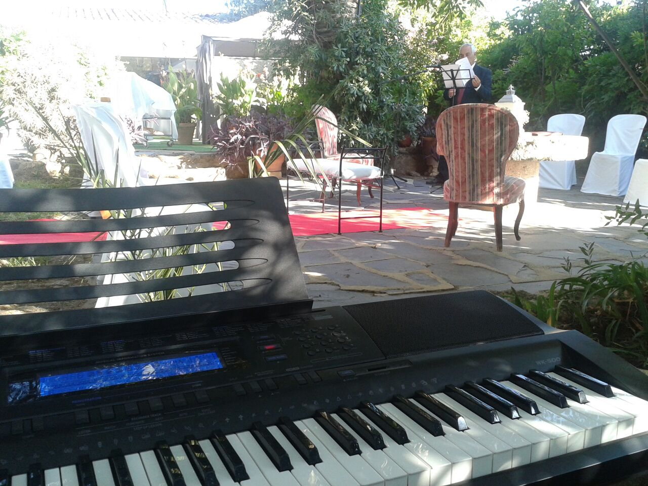 Piano en boda civil