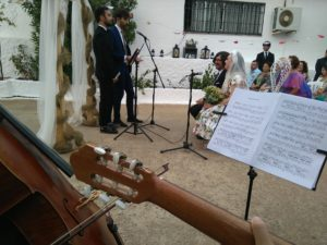 Cello y guitarra